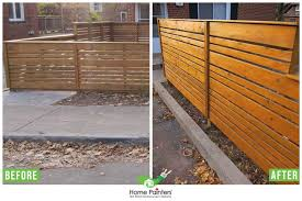 How To Fix A Leaning Fence Home Painters Toronto