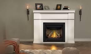 mi gas fireplace mantel