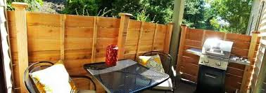 My First Real Project A Free Standing Fence For An Apartment Patio Patio Fence Diy Backyard Fence Free Standing Fence