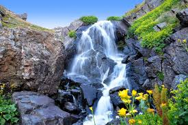 photo wallpaper moving waterfall