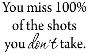 You Miss 100 Of The Shots You Don T Take Hockey Wall Decal Vwaq Contemporary Wall Decals By Vwaq Vinyl Wall Art Quotes And Prints