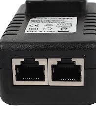 us wall plug 48v 0 5a poe injector
