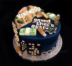 Grand Theft Auto Cakes Google Search Tortas Postres Pastel