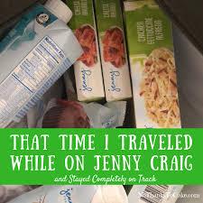 i traveled while on jenny craig