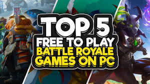 top 5 free new battle royale games 2018