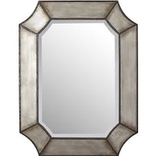 rustic wall accent mirrors
