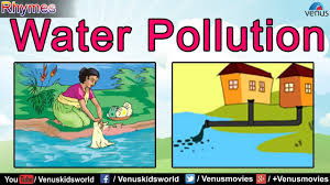 draw the diagram of water pollution