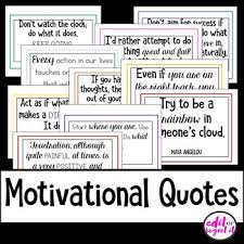 motivational quotes for classroom decor by edit or regret it tpt