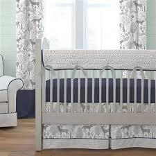 baby room likable navy and grey crib