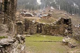 Historical temple of Goddess Sharda at Kashmir Neelum Valley ...