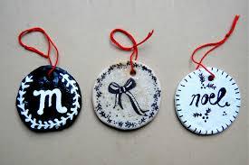 diy homemade salt dough clay ornaments