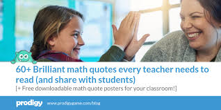 brilliant math quotes every teacher needs to read
