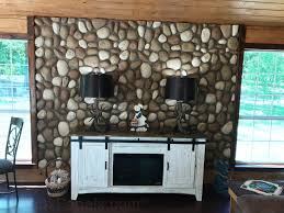 stone wall covering faux panels 4x8