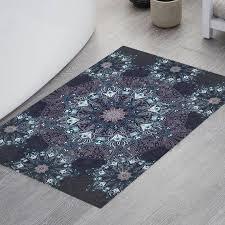 winsome gray bath rug set hippie