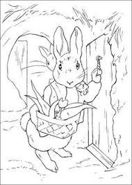 16 Beste Afbeeldingen Van Peter Rabbit Kleurplaten Peter Rabbit