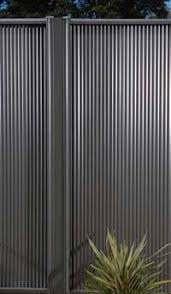 Garden Fence Lysaght Miniscreen Bluescope Steel Steel