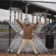 Meet Norman Kirby Creator Of Fence Art In Jersey City Hoboken Girl