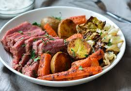 Roasted Corned Beef and Cabbage with ...