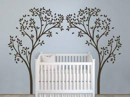 Wall For Nursery Safari Tree Decal Boy Spotlight Names Design Girl And Bird Walmart Etsy Vamosrayos