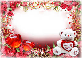 cards and frames for valentines day