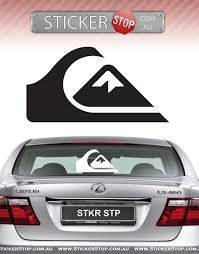 Quiksilver Surfing Logo Vinyl Window Decal Car Bumper Sticker Red 4 Roxy Car Truck Parts Other Car Truck Decals Stickers Moonnepal Com