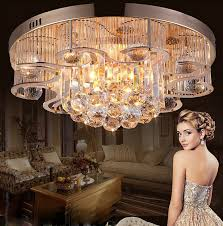 elegant bedroom crystal chandelier high