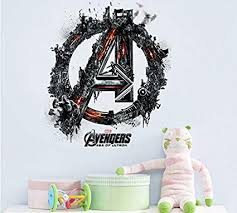 Amazon Com Dexunn Popular Movie The Avengers Home Decal Wall Sticker For Kids Room Decorative Boys Bedroom Handsome Hero Decorative Oo 025 Home Kitchen