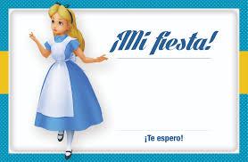 Invitacion Alicia En El Pais De Las Maravillas Para Imprimir