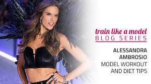 alessandra ambrosio t and workout