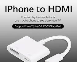 Besiuni Chiếu Sáng AV HDMI/HDTV TV Kỹ Thuật Số Cáp Cho iPhone 5 5 5s 6 6 S  7 7 Plus|hdmi av|cáp kỹ thuật sốav hdmi - AliExpress