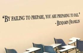 Benjamin Franklin Inspirational Teacher Wall Quote Vinyl Sticker Decal B Ebay