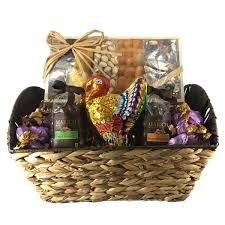 thanksgiving chocolate nut basket