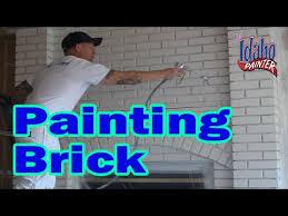 brick fireplace s painting bricks