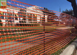 Safety Temporary Plastic Construction Netting Orange Construction Barrier Of Plastic Construction Netting