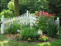 Douggreensgarden Small Garden Fence Fence Landscaping Picket Fence Garden