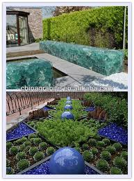 recycled landscaping glass rocks