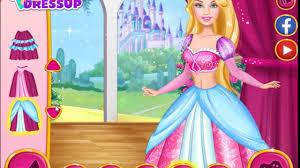 barbie princess dress up games to play