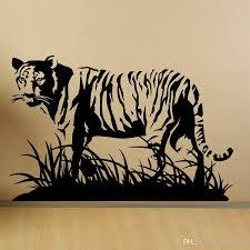 Tiger Wall Decal Black And White Daniel Bengal Cool Design Vinyl Clemson Stripe Vamosrayos