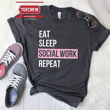 Pin by Ada Davidson on T shirt ideas in 2020   Social workers shirts, Work  shirt designs, Work tshirt