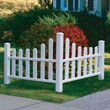 Decorative Corner Picket Fence Sporty S Tool Shop Country Landscaping White Picket Fence Fence Landscaping