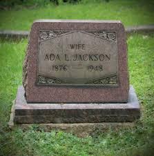 Ada Lewis Jackson (1876-1948) - Find A Grave Memorial
