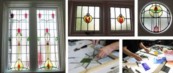 replace window with stained glass