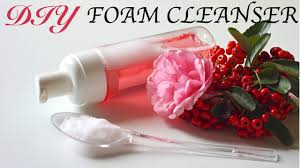 diy foam cleanser homemade face