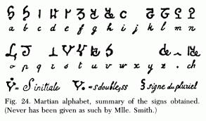 The Martian Writing of Hélène Smith