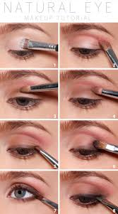 natural eye makeup tutorial pictures