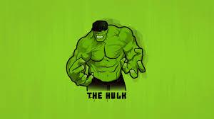 minimal hulk wallpaper hd superheroes