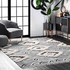nuloom moroccan fringe wool rug