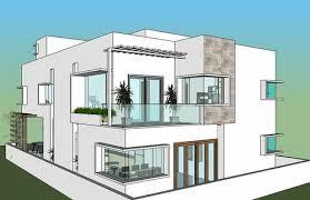 duplex bungalow architectural services