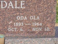 Oda Ola Smith Martindale (1893-1964) - Find A Grave Memorial