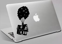 Disney Up Inspired Floating Balloon House Car Laptop Or Wall Decal Floating Balloons Disney Up Disney Up House